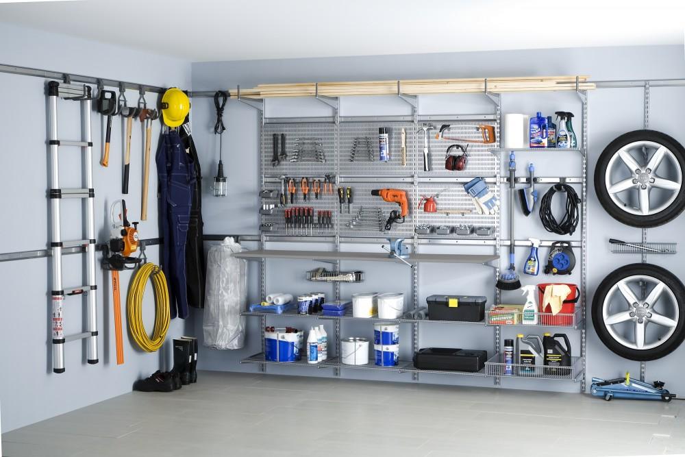Как устроить гаражную мастерскую?